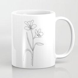 Amancay - Patagonian wildflower Coffee Mug