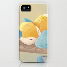 Morning Nap iPhone Case