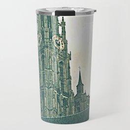 Vintage Style Photo Antwerp Travel Mug