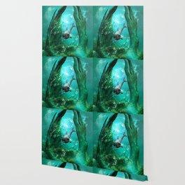 Swimming dolphin Wallpaper