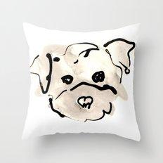 Bichon Frise Throw Pillow