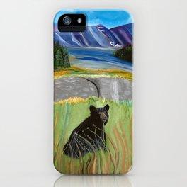 Bear Hunter iPhone Case