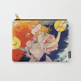 Olympia Paris 1892 by Jules Chéret Carry-All Pouch