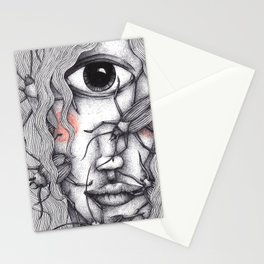 Cyclops Girl  Stationery Cards