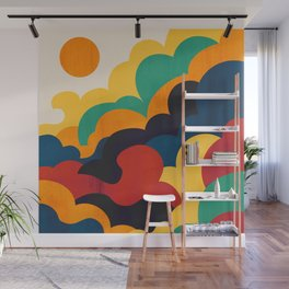 Cloud nine Wall Mural