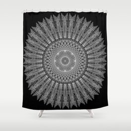 """Dream Snare"", by Brock Springstead Shower Curtain"