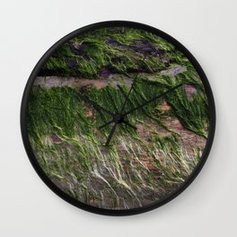 ocean wood Wall Clock