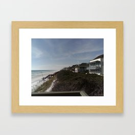 FL 001  Framed Art Print