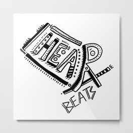 Heartbeats Metal Print