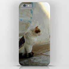 blue door and cat Slim Case iPhone 6s Plus