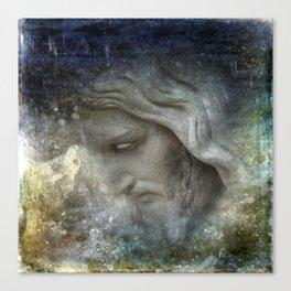his face -1- Canvas Print