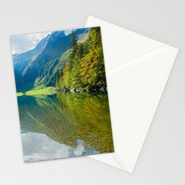Seealpsee Lake Appenzell Alps Switzerland Stationery Cards