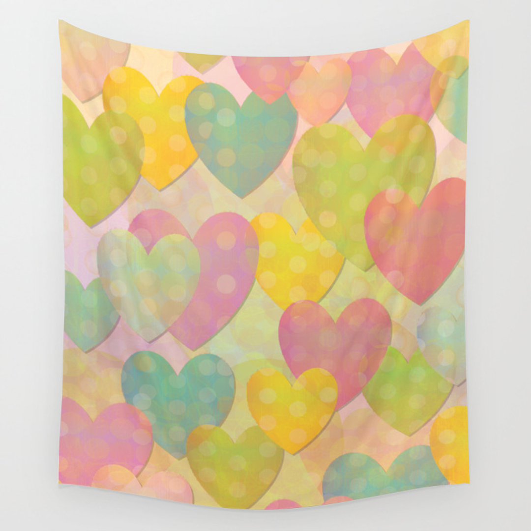 Fancy Colorful Wall Tapestry Images - Art & Wall Decor - hecatalog.info