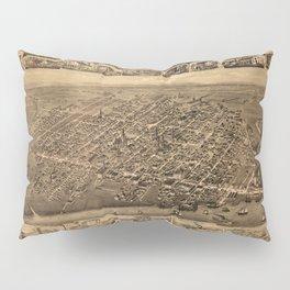 Map Of Moncton 1888 Pillow Sham