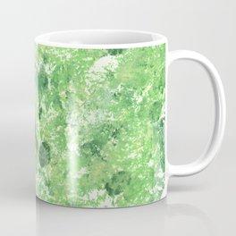 Spring Camo Green Print, Grass, Nature Coffee Mug