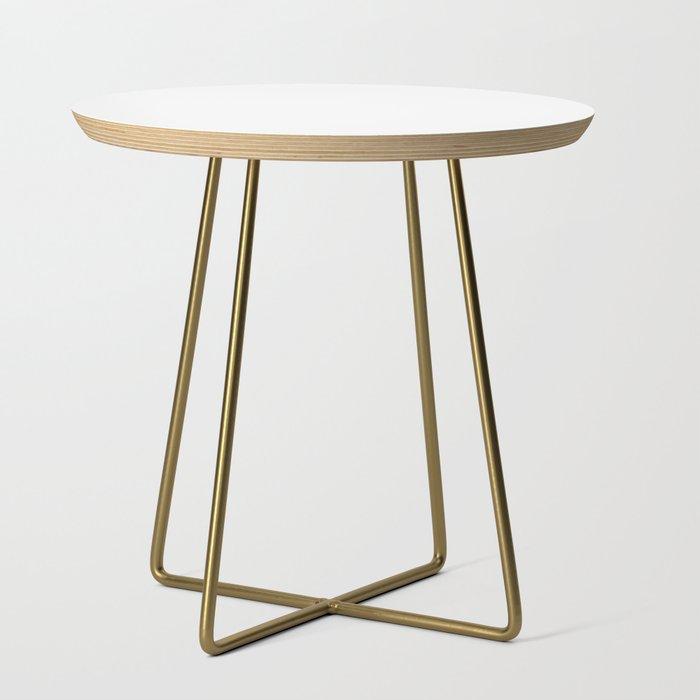 Side Table Strak.Stark White Solid Color Side Table By Vintageappeal623