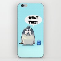 yeti iPhone & iPod Skins featuring Yeti by Mr Meowmer
