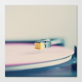 The Pink Record Canvas Print