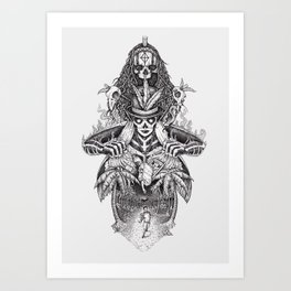Voodoo people Art Print