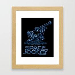 Space Jockey Framed Art Print