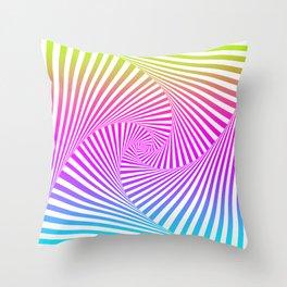 Summer Twista 3 Throw Pillow