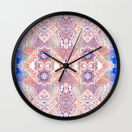 paisley river Wall Clock