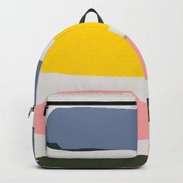 Abstract Art, Geometric Art, Geometric Prints, Abstract Wall Art, Minimalist Art, Retro Pastel Wall Backpack