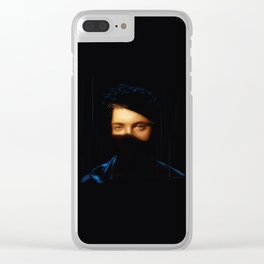 SPARKLING EYES Clear iPhone Case