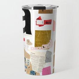 Paper Trail I  Travel Mug