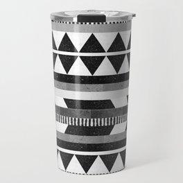 DG Aztec No.1 Monotone Travel Mug
