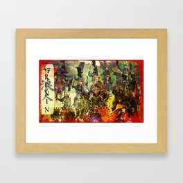 The Ride of the 47 Ronin Framed Art Print