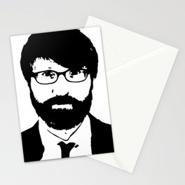 chuck klosterman Stationery Cards