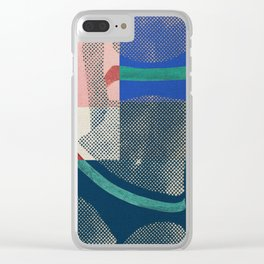 Gerald Laing's Girls 3 Clear iPhone Case