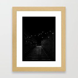 Optical Liberty Framed Art Print