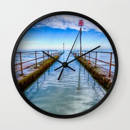 River Outlet Wall Clock