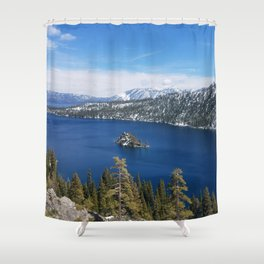 Inspiration Point at Emerald Bay Shower Curtain