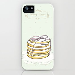 x-mas cookies iPhone Case