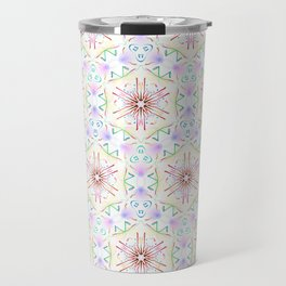 Pattern Alexa Travel Mug
