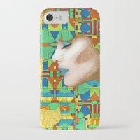 nouveau iPhone & iPod Cases featuring Nouveau Girl by Steve W Schwartz Art