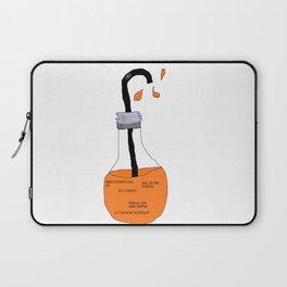 Bad Ideas Orange Juice Laptop Sleeve