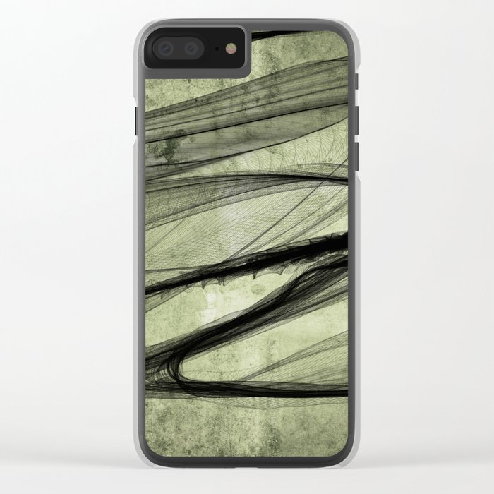 Again the Smoke Clear iPhone Case