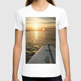 Paddle Board Sunset T-shirt