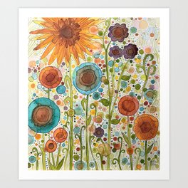Florets Art Print
