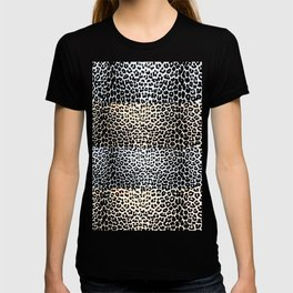 ANIMAL PRINT CHEETAH MULTI LAYER T-shirt