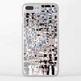 Abstract background 111 Clear iPhone Case