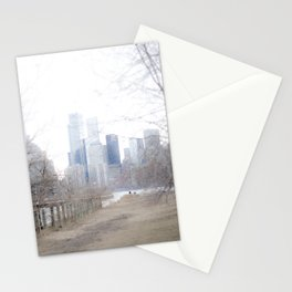 BEFORE THE SKYLINE Stationery Cards