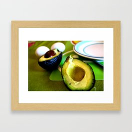 Avocados in Chile Framed Art Print