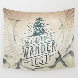 Im a wanderer Wall Tapestry