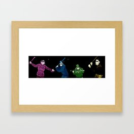 Don't mess with us Framed Art Print