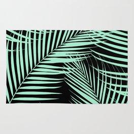 Palm Leaves - Mint Cali Vibes #1 #tropical #decor #art #society6 Rug